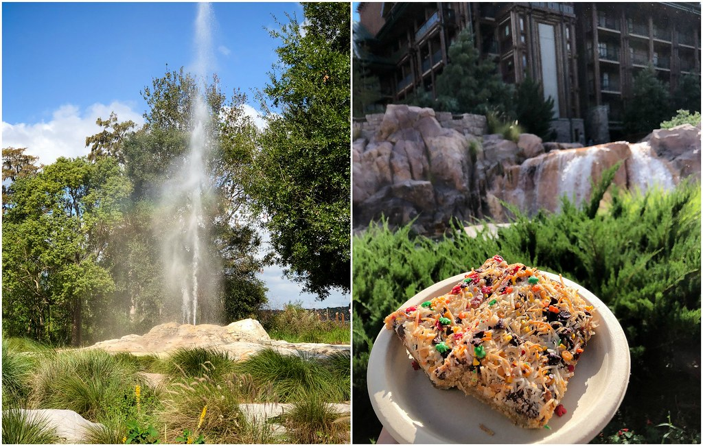 geyser, cascade falls, magic cookie bars