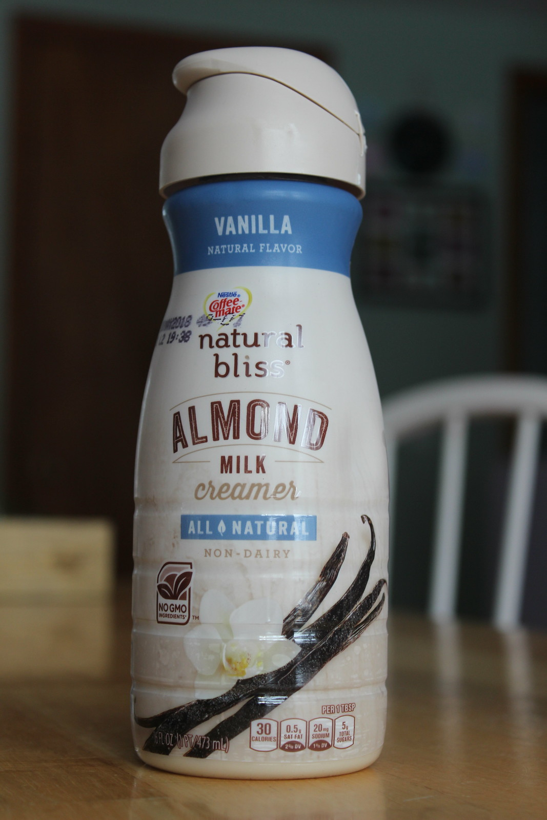 coffeemate natural bliss almond milk vanilla