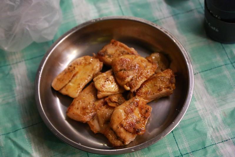 玉鳳準備的普羅旺斯香雞排