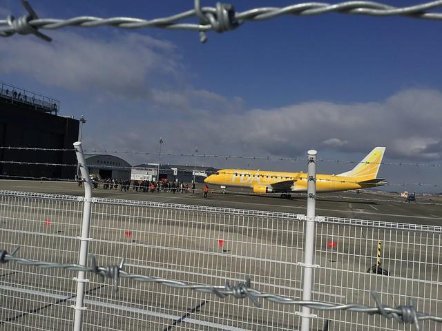 県営名古屋空港「空の日」「空の旬間」記念イベント 飛行機と綱引き 8ABBAB80-78C6-424C-BA41-5220A6975122
