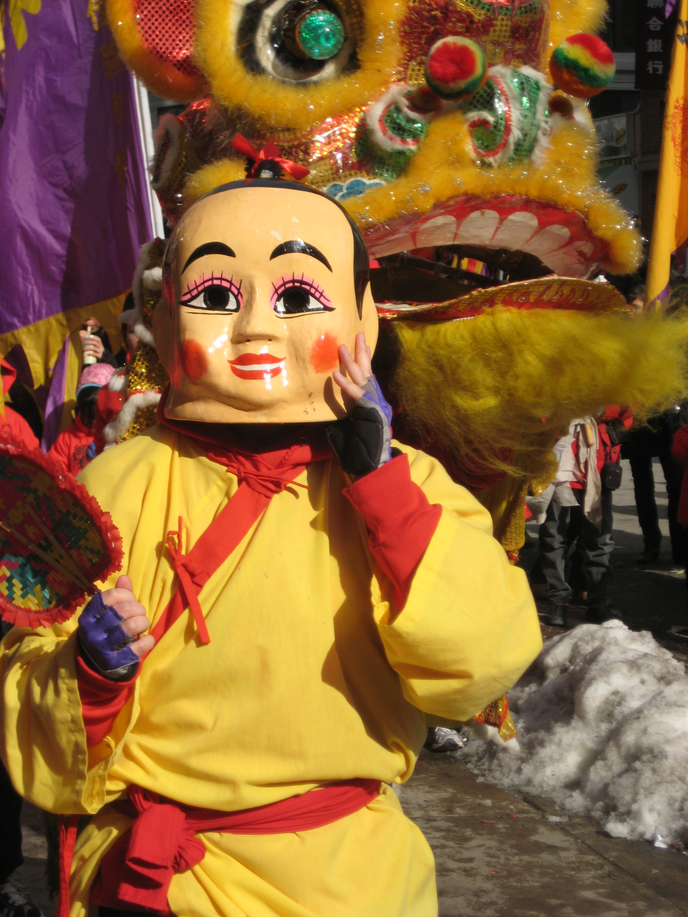 Chinese New Year parade in Boston, Massachusetts. Photo taken on February 1, 2009.