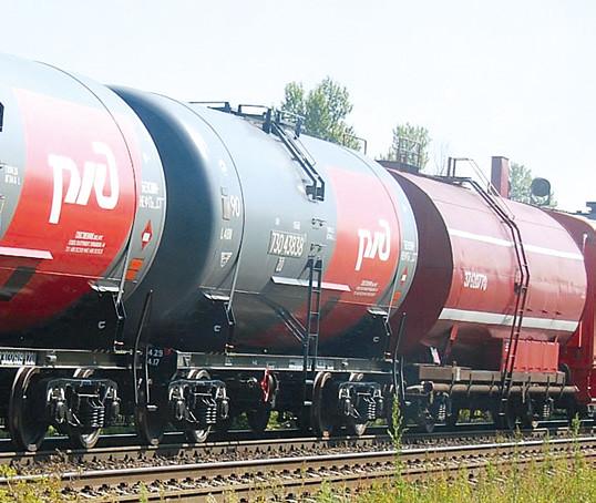 Нефтняные железнодорожные цистерны