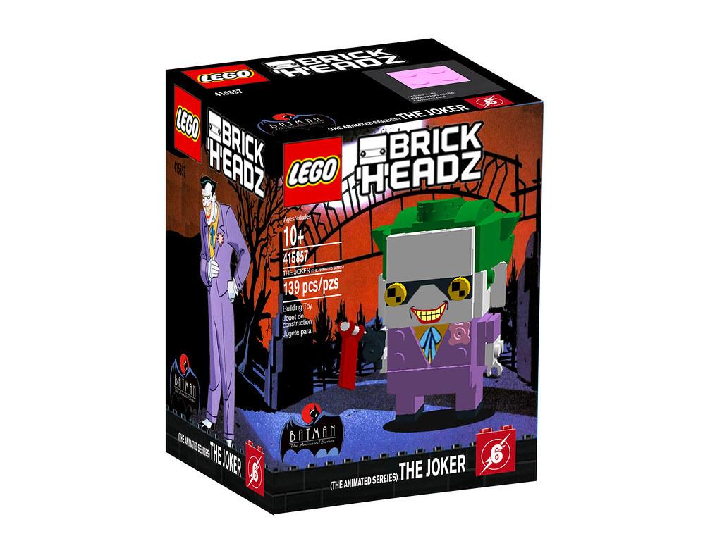 The Joker TAS Brickheadz