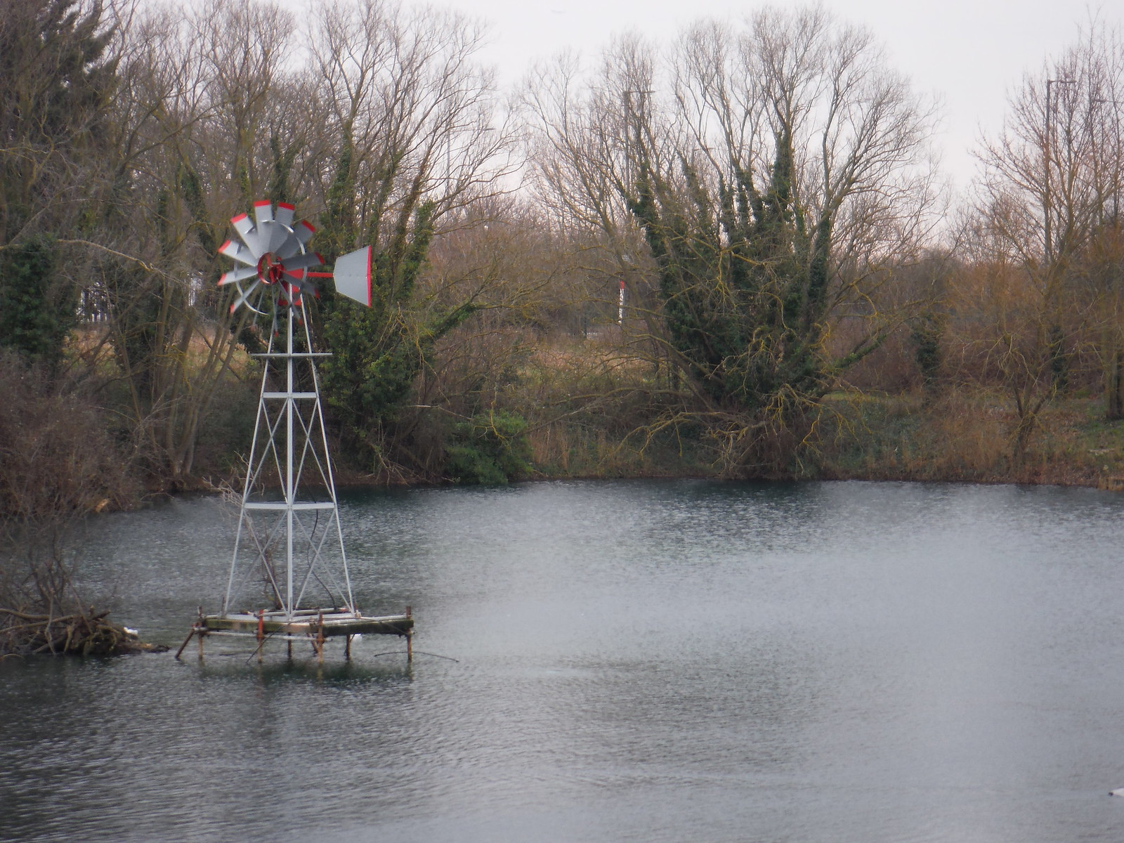 Eastbrook Pond, Eastbrookend Country Park SWC Short Walk 33 - Dagenham Parks, Rivers and Ponds
