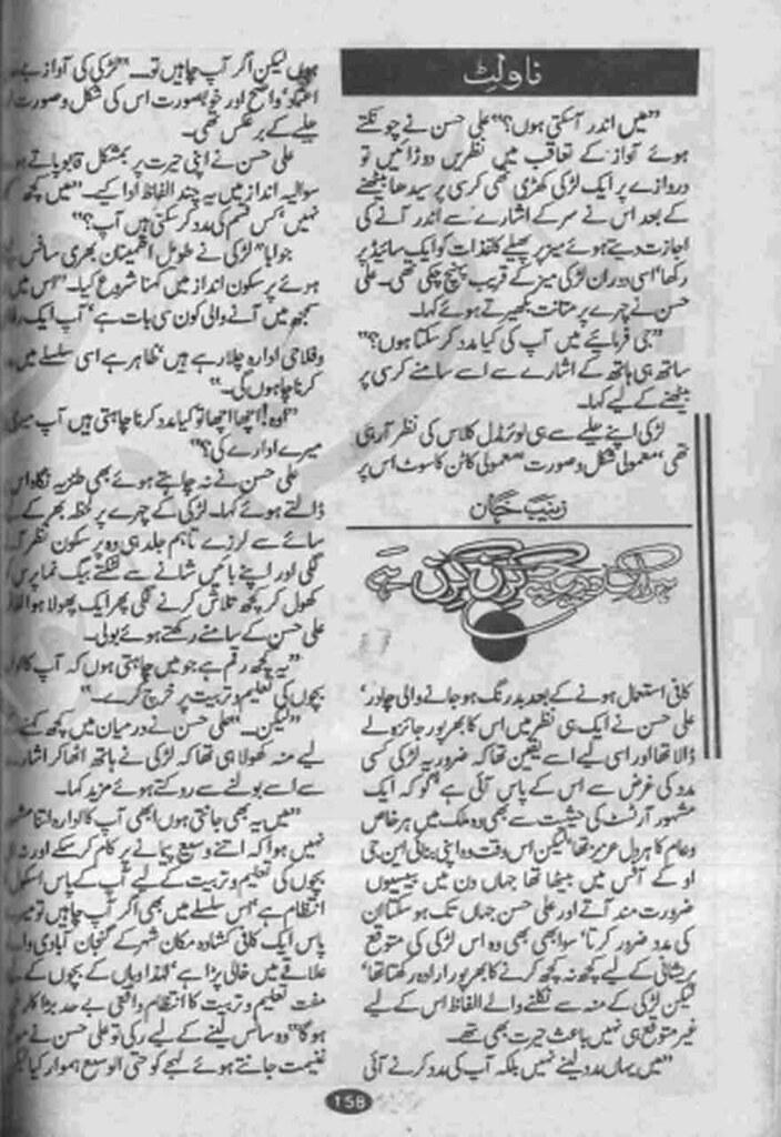 Har Ek Dareecha Kiran Kiran Hai Complete Novel By Zainab Khan