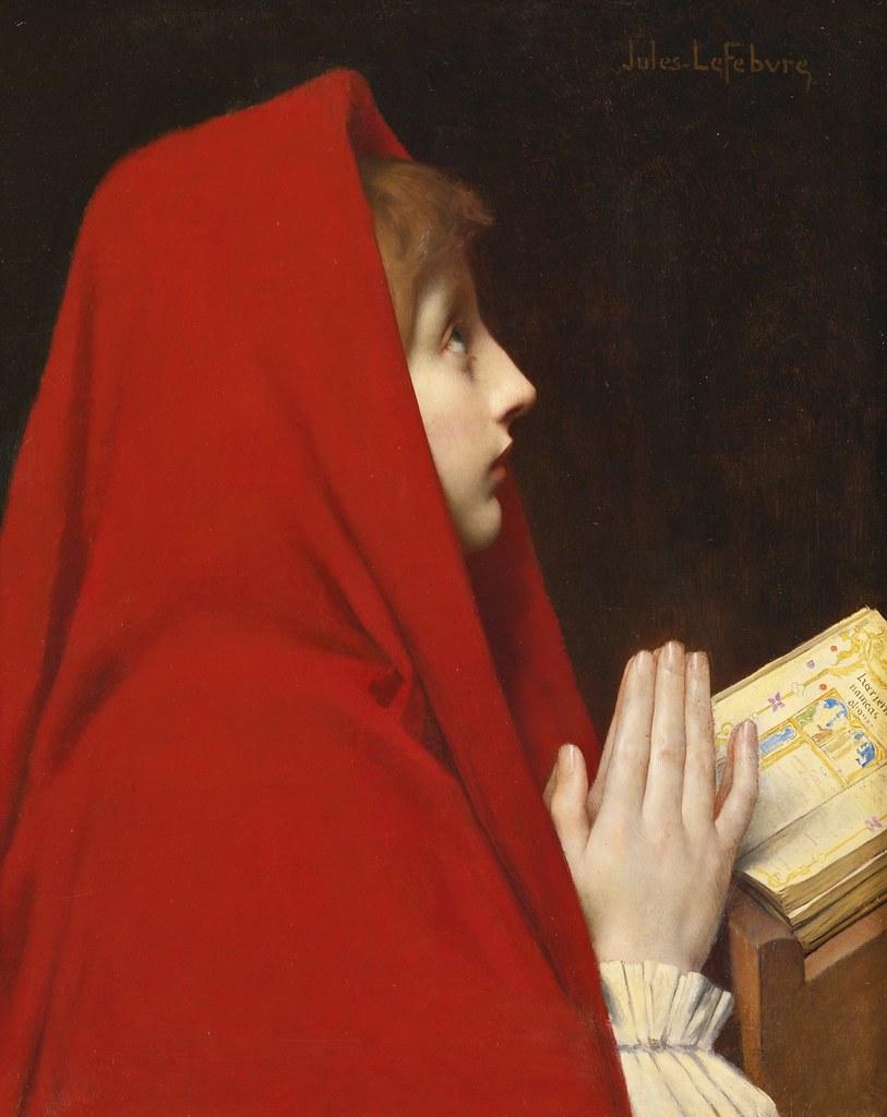 Jules Joseph Lefebvre - The red cloak