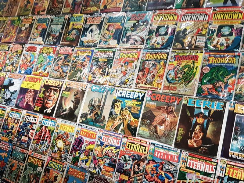 comics wall