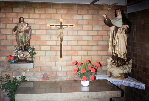 Capilla de San José [1] - La imagen del Santo donada por el convento de Cádiz.