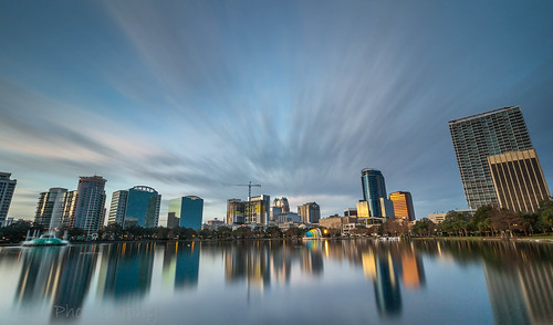landscape skyline cityscape buildings architecture city downtown urban orlando florida write 2018 sunrise longexposurejunkies longexposurephotography canon 10stopfilter mornings clouds cloudlovers steaks blend sky building water park lake lee filter hd