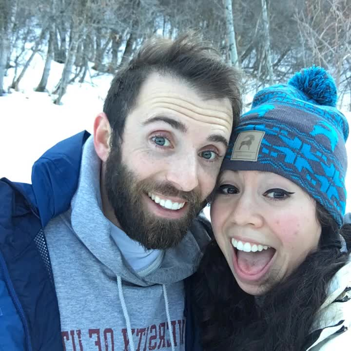 Chatwinners go snowshoeing
