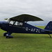 G-AFZL Porterfield CP-50 on 4 September 2016 Sywell