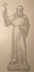 Heiliger Benedikt von Nursia - gesegnet