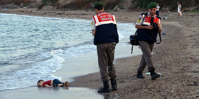 Photo du petit Aylan