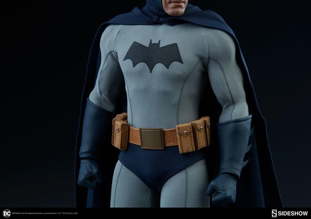 守護高譚的闇夜騎士降臨!! Sideshow Collectibles DC Comics【蝙蝠俠】Batman 1/6 比例人偶作品
