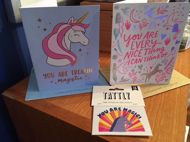 cards (and tattoos!) from friends