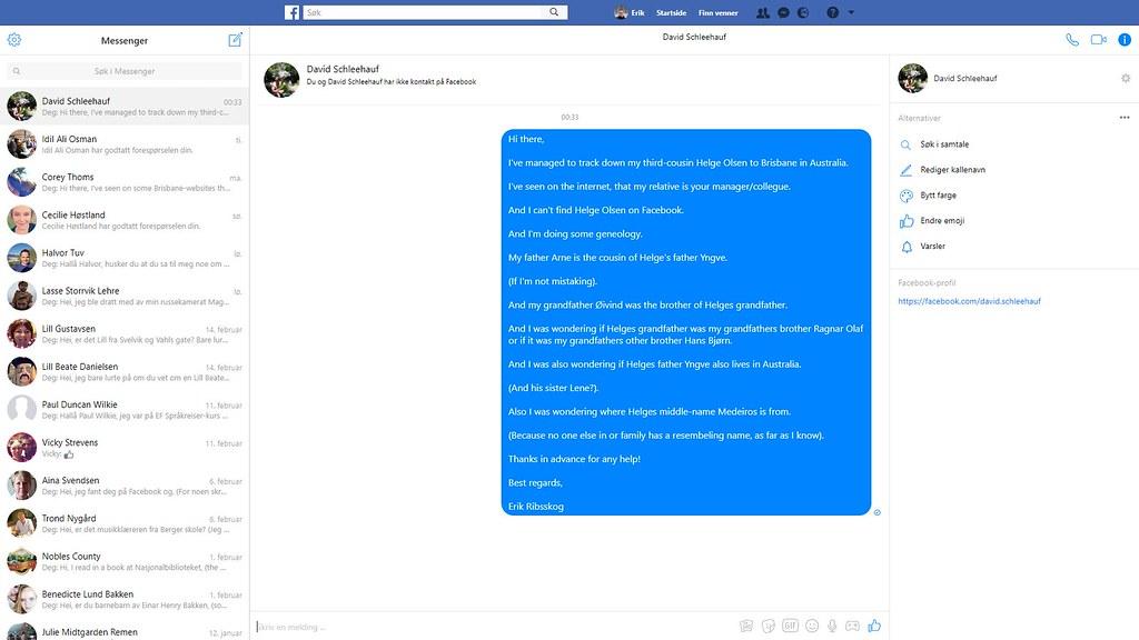 david australia facebook 2