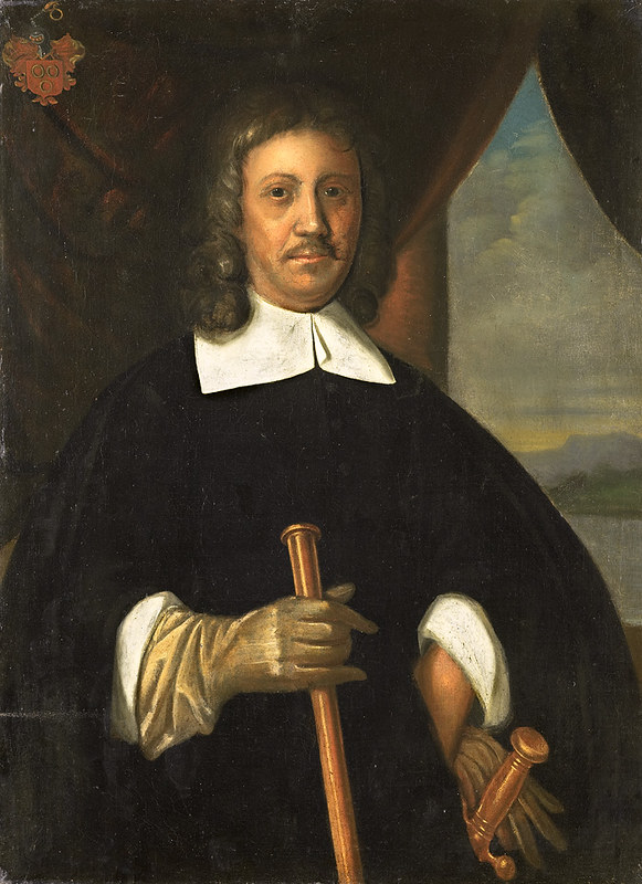 Portrait of Jan van Riebeeck, by anonymous artist