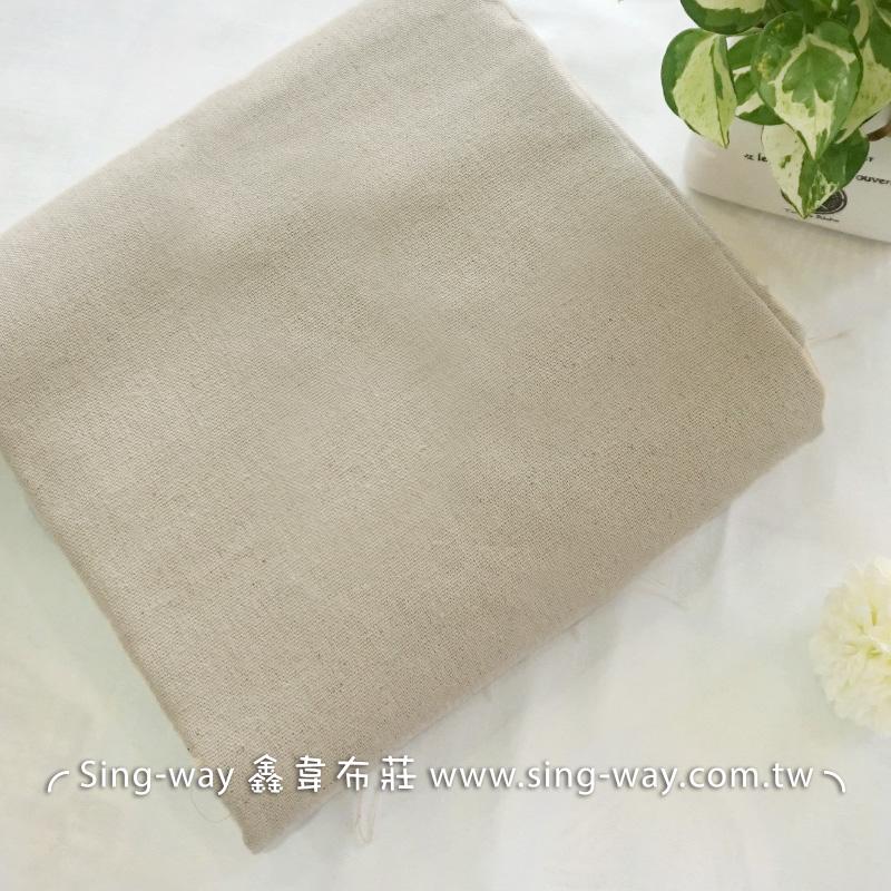 卡其素面胚布 素面棉麻混紡 簡約無印 森林系文青 佈置裝飾 手工藝DIy拼布布料 FA390253