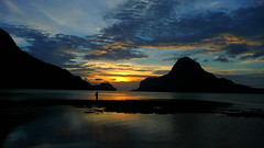 Second Row Seat on El Nido Sunset Show