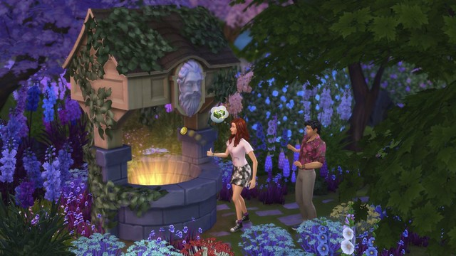 The Sims 4 Jardim Romântico para Consoles está chegando