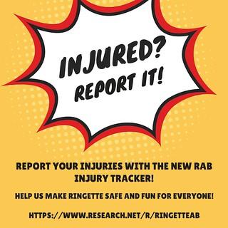 RAB Injury Tracking FE8, 2018