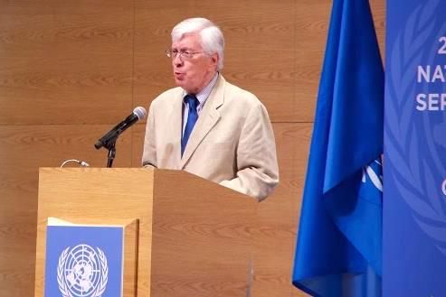 R Work at UN conference 2013