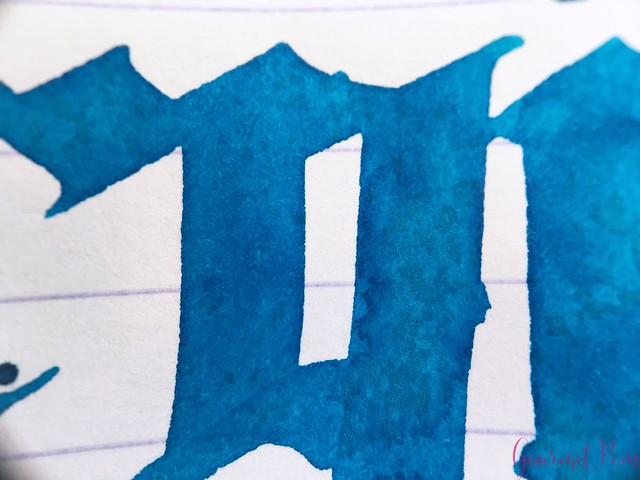 Ink Shot Review KWZI Turquoise @AppelboomLaren 7
