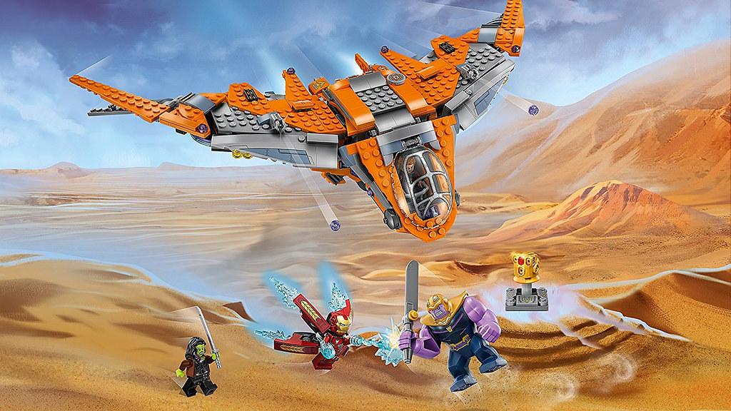 76107 Thanos Ultimate Battle