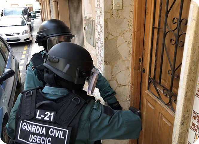 Desarticulan un grupo criminal en La Unión