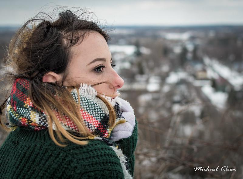 Cecelia in Winter 1