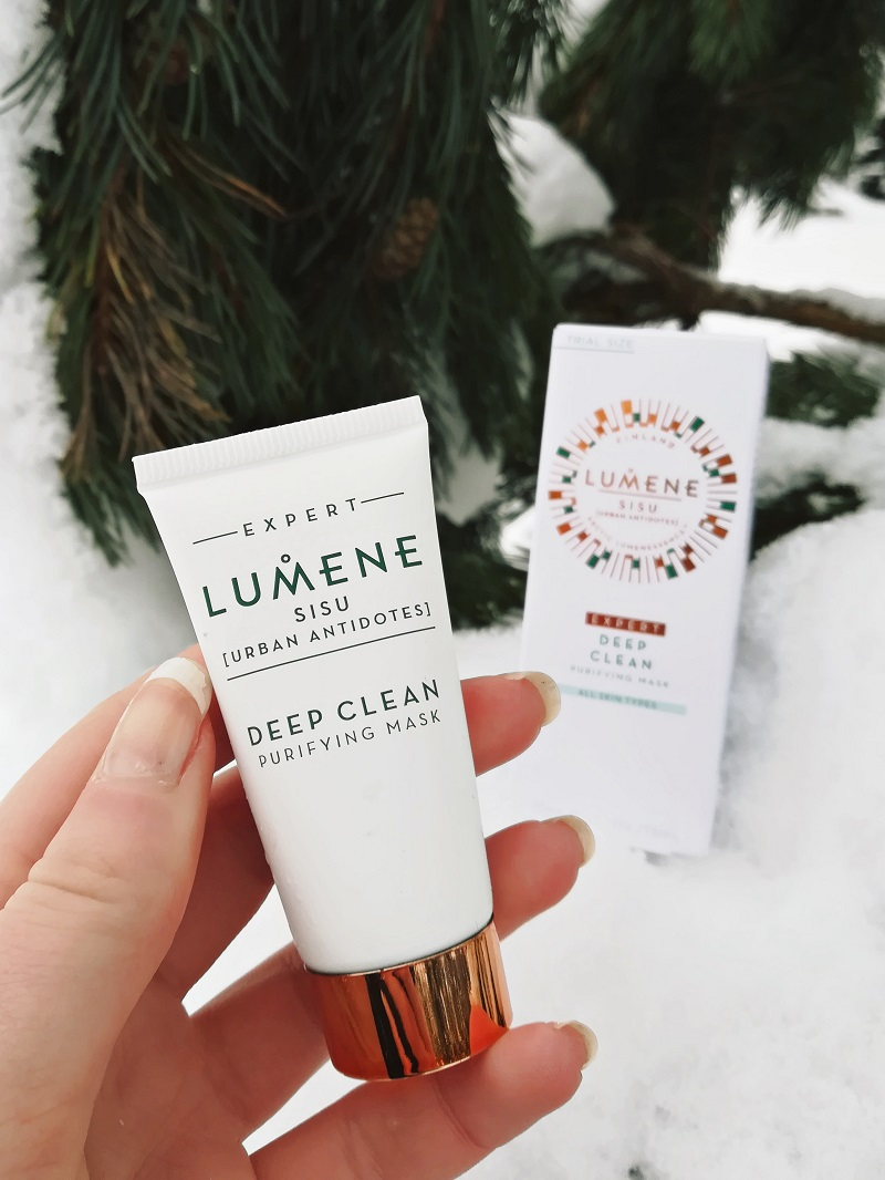Lumene SISU Deep Clean Purifying Mask