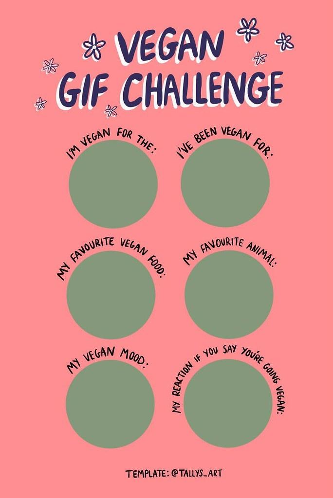 Vegan GIF Challenge