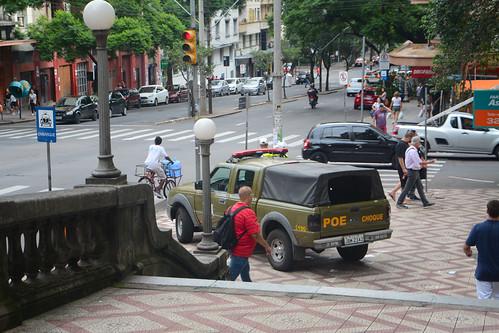 Militarização das ruas de Porto Alegre