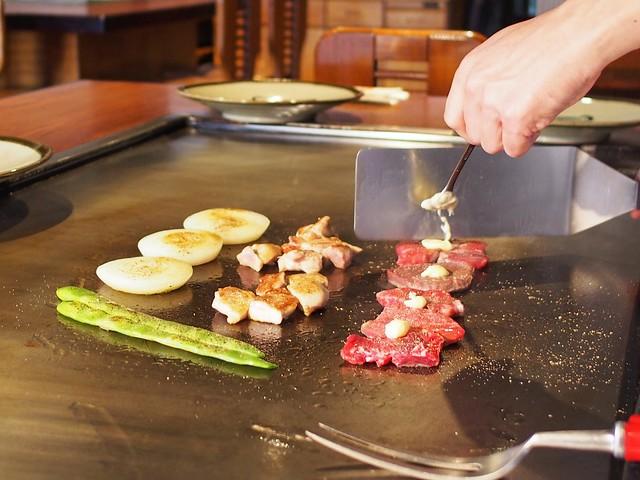 Minute Steak & Chicken Leg