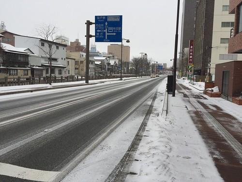 秋田市内(幹線道路)