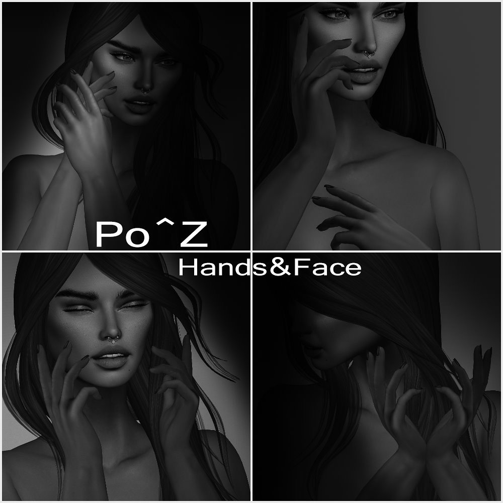 Po^Z New release – Hands and face poses