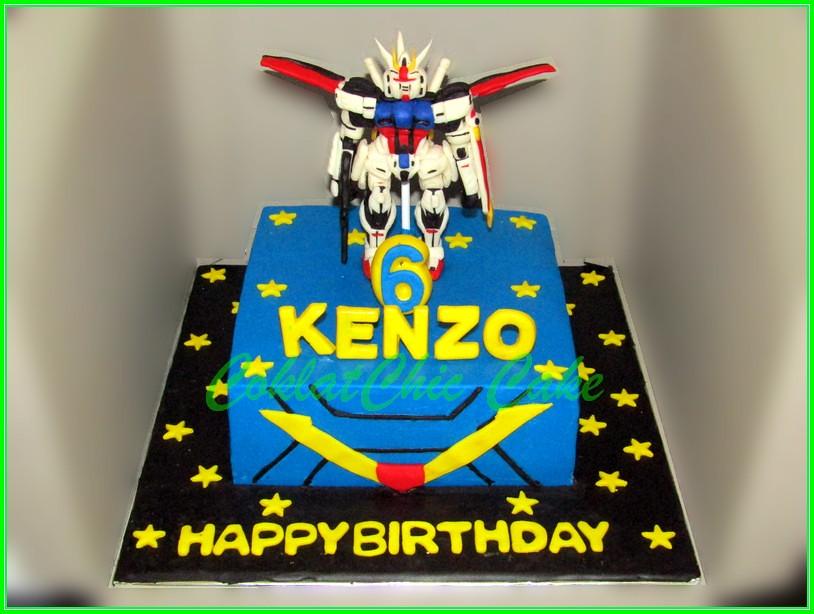 Cake Gundam KENZO 15 cm