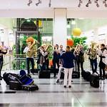 Flashmob im DEZ - 19.11.2014
