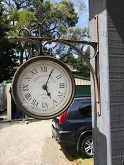 Outside clock