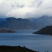 Lake Pedder in 30 minutes intervals of rain and shine contrast