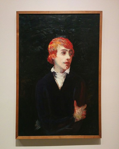 Portrait of a Woman With Red Hair, 1900s  #toronto #artgalleryofontario #florinestettheimer #stettheimerago
