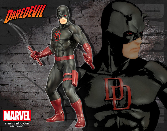 壽屋 ARTFX+ 系列 Marvel Comics【夜魔俠 黑色套裝版】Daredevil デアデビル ブラックスーツ