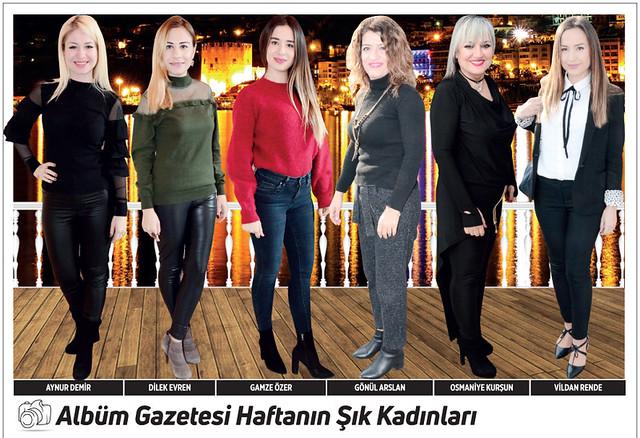 Aynur Demir, Dilek Evren, Gamze Özer, Gönül Arslan, Osmaniye Kurşun, Vildan Rende