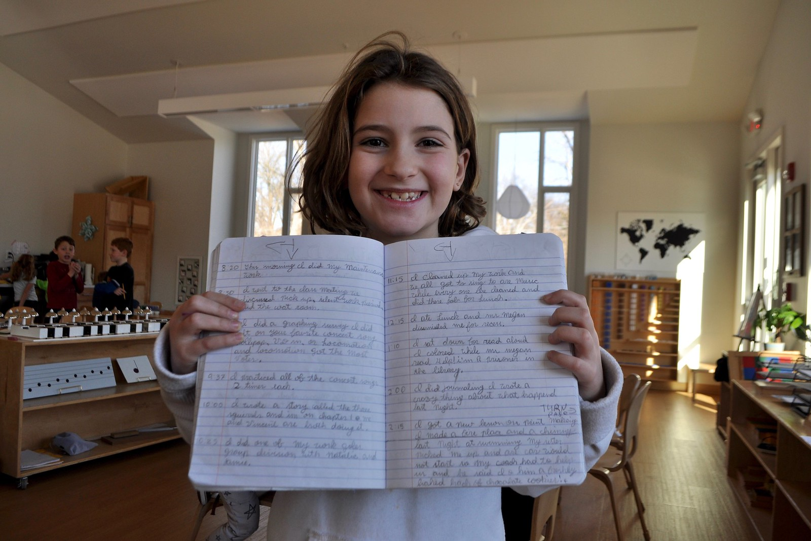 The Work Journal – Villa di Maria Montessori School – Blog