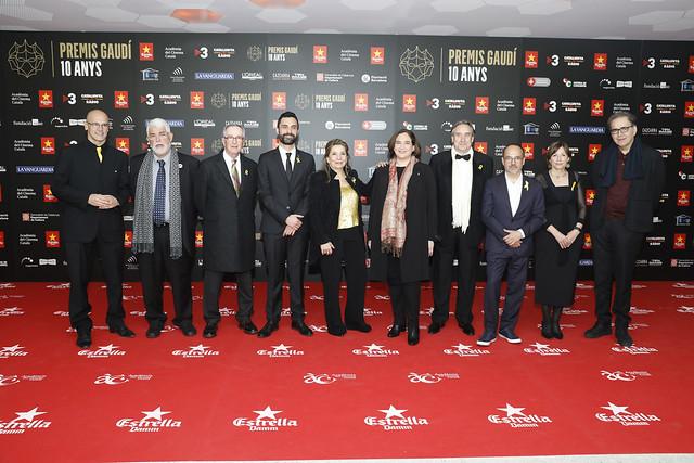 Photocall - X Premis Gaudí