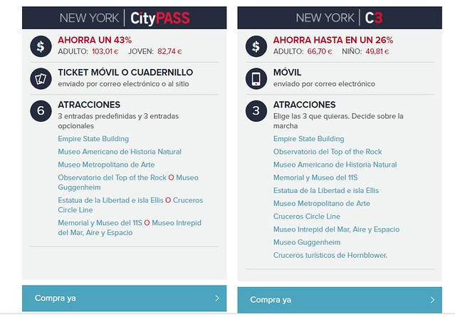 Cuanto cuesta viajar a Nueva York