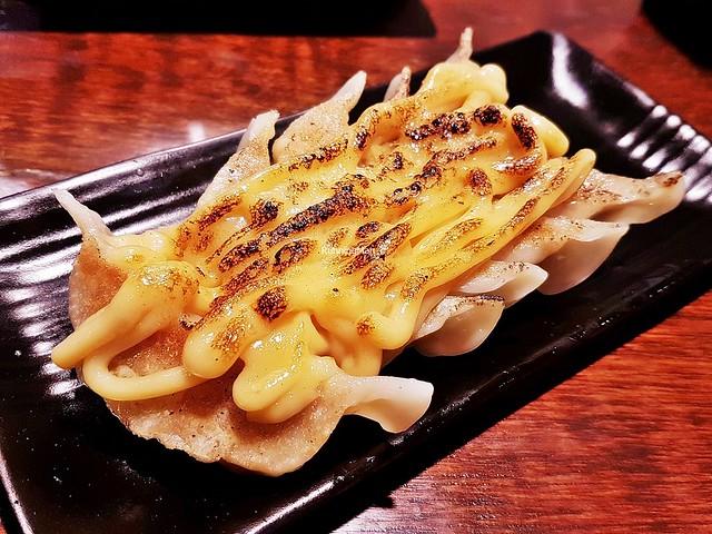 Yaki Miso Gyoza / Pan-Fried Pork Dumplings With House Miso Sauce