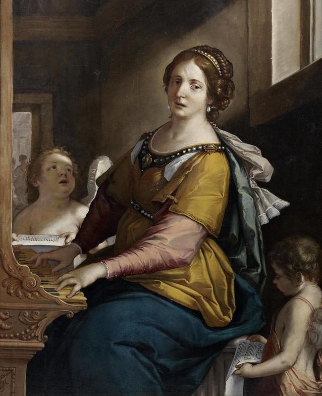Francesco Gessi - Saint Cecilia