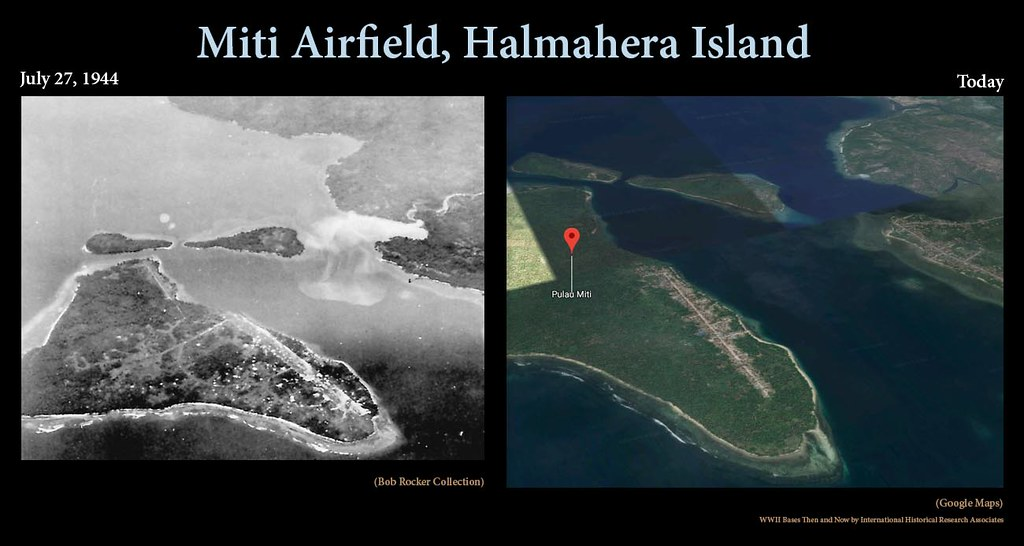 Miti Then and Now | This airfield was used by the Japanese d