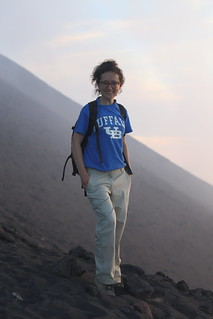 Dr Teresa Ubide - field studies at Mount Etna